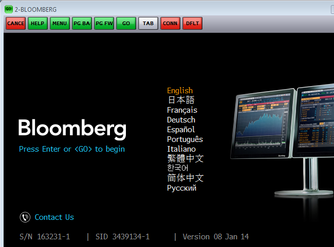 BloombergLogin
