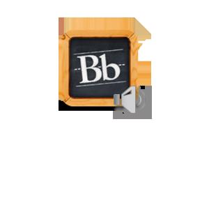 Blackboard - audio