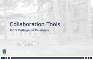 Collaboration Tools