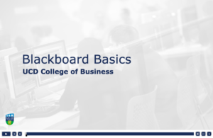 Blackboard Intro