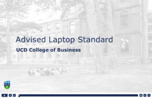 Advised Laptop Standard