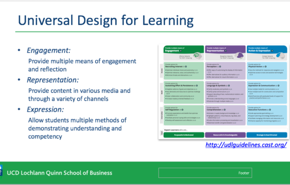 Universal Design for Learning in The Future VLE