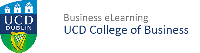 UCD Business eLearning